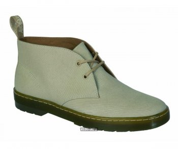 Dr. Martens 2 Loch Mayport Sand Overdyed Twill Canvas 16516270