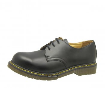 Dr. Martens 3 Eye Steel Caps Black Eur 42 (UK8)