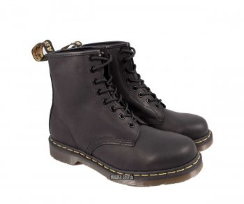 Dr. Martens 8 Eye Greasy Black Eur 47 (UK12)
