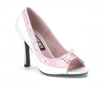 Funtasma Baroque Pump white/baby pink 40