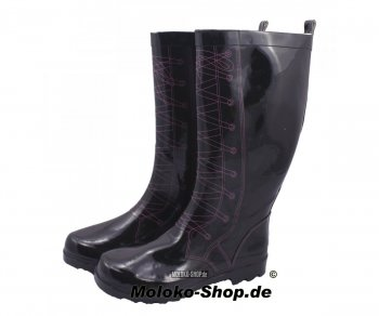 Gummistiefel Fake Lacing