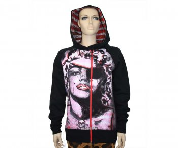 Iron Fist Girl Hooded Marilyn Misfit