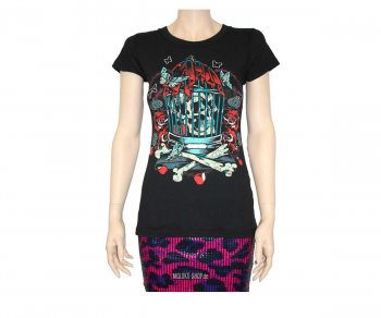 Iron Fist T-Shirt Girl Caged Heart