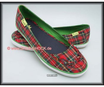 Keds Red Stewart Plaid Woman 37 (6,5)