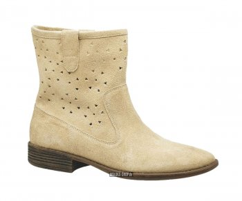 Kickers Boots Roundy Beige