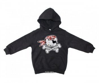 Kinder Kapuzenpullover Pirate Cat