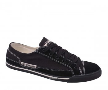 Macbeth Matthew Suede/Canvas black/black 38