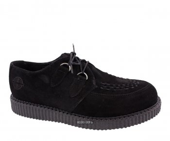 Nevermind Lo Creeper Haley Suede Black 46