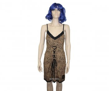 Sourpuss Leopard Molotov Dress
