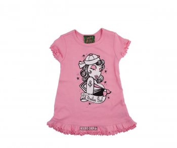 Too Fast BABY/TODDLER DRESS - Pink Sailor Girl