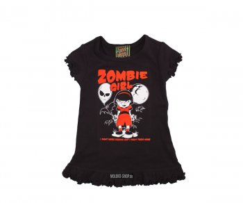 Too Fast BABY/TODDLER DRESS - Zombie Girl