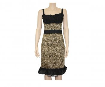 Too Fast Cha Cha Dress - Leopard