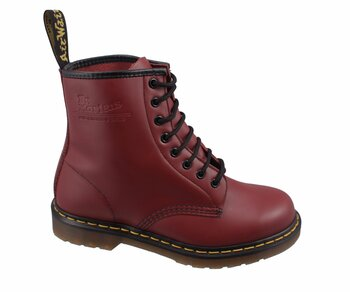 Dr. Martens 8 Eye 1460 Cherry Red Smooth 11822600