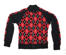 Jacke Argyle Red/Black