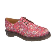 Dr. Martens 3 Eye 1461 Flowers Coral Meadow