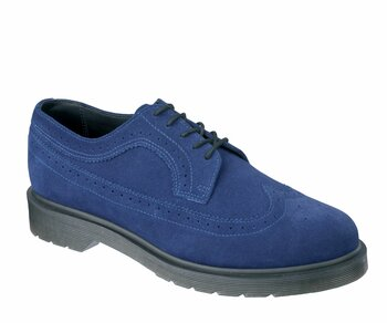 Dr. Martens 5 Loch 3989 Brogue Midnight Blue Hi Suede WP