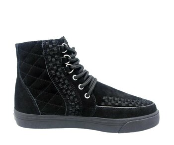 T.U.K. Boots A6573 Black Chukka Suede