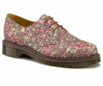 Dr. Martens 3 Loch 1461 Fired Taupe Meadow Eur 42 (UK8)