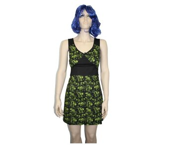 Sourpuss Dress Cats Rats Bats Girl M