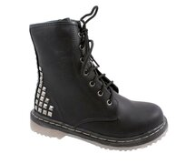 Lace Boots 7 Eye Studded 39