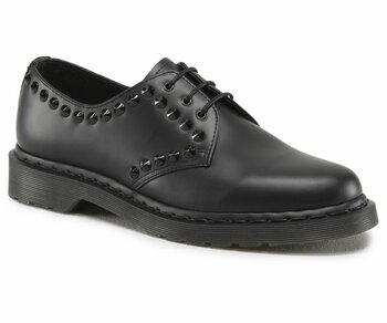 Dr. Martens 3 Loch Cedar Black Smooth
