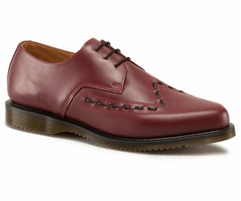 Dr. Martens 3 Loch Creeper Ally Cherry Red Smooth Eur 42 (UK8)