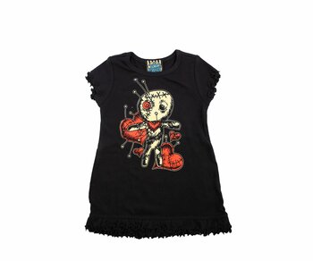 Too Fast BABY/TODDLER DRESS - Voodoo Doll Kids 080