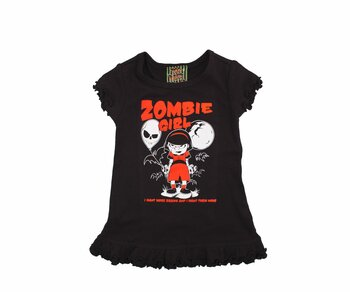 Too Fast BABY/TODDLER DRESS - Zombie Girl Kids 080