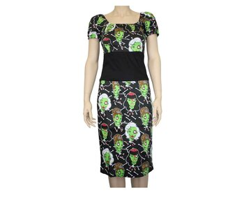 Too Fast Wench Dress - Zombie Wood Girl XL