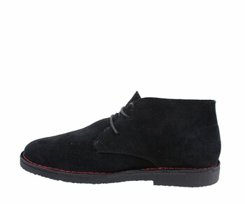 Nevermind Desert Boot Black Suede