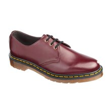 Dr. Martens 3 Loch 1461 Cherry Red Vegan Felix Rub-Off