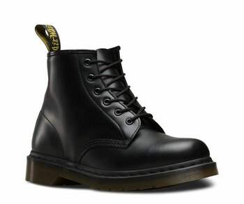Dr. Martens 6 Loch 101Z Black BW Smooth 10064001 Eur 45 (UK10)