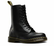 Dr. Martens 1490 10 Loch  Black Smooth 11857001 Eur 47...