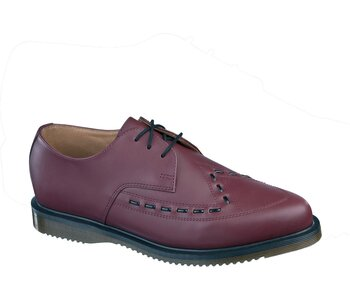 Dr. Martens 3 Loch Creeper Ally Cherry Red Smooth Eur 41 (UK7)