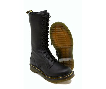 Dr. Martens 14 Loch 1B99 Black Virginia 11820008 Eur 39 (UK6)