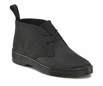 Dr. Martens 2 Eye Daytona Black Satin 16575002