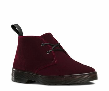 Dr. Martens 2 Loch Daytona Cherry Red Velvet 16575601 Eur 43 (UK9)