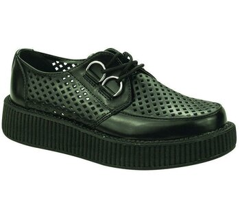 T.U.K Creeper V8883 Viva Low Creeper Black 38