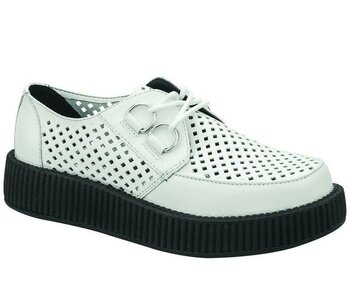 T.U.K Creeper V8882 Viva Low Creeper White 36