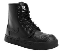 T.U.K. Boots A8951L Black Out  Kitty Boot