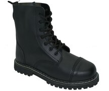 Inamagura Boots Black Leather