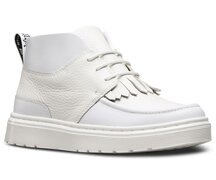 Dr. Martens 3 Loch Ankle Boot Jemima White Venice + Aunt...