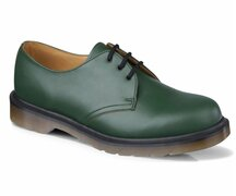 Dr. Martens 3 Loch 1461 PW Green Smooth