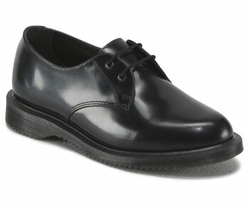 Dr. Martens 2 Loch Brook Black Polished Smooth 16514001