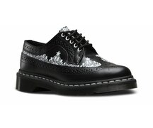 Dr. Martens 5 Loch 3989 Black Lace Smooth