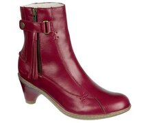 Dr. Martens Jenna Ankle Boot Red Palatino