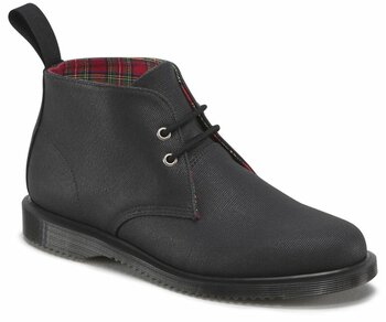 Dr. Martens 2 Loch Ainsley Black Waxy Canvas