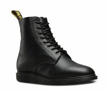 Dr. Martens 8 Loch Whiton Black Softy T PU Binding