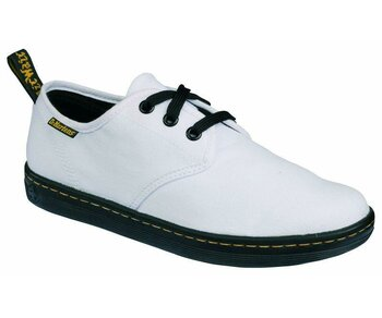 Dr. Martens 3 Loch Electric Soho White Canvas