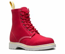 Dr. Martens 8 Loch 1460 PageTrue Red Canvas